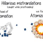 najśmieszniejsze pomyłki w tłumaczeniach #1